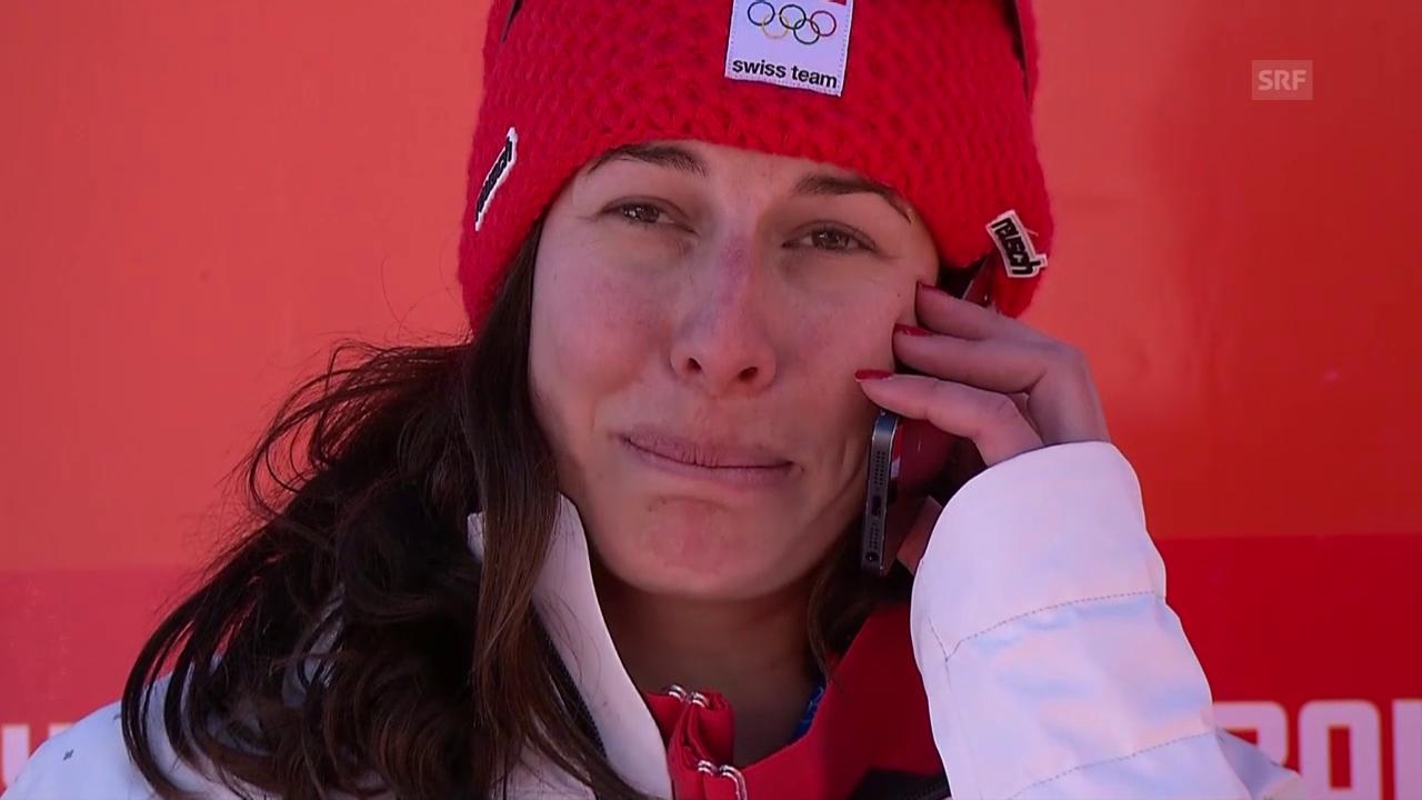 Ski: Dominique Gisin ruft ihre Grossmutter an