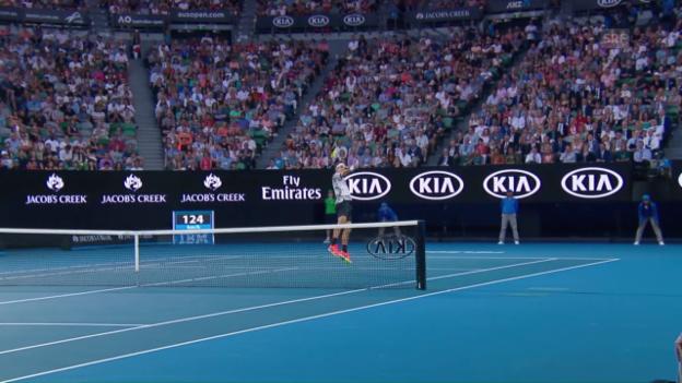 Video ««Federer deckt das Netz besser ab»» abspielen