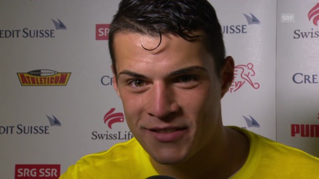 Video «Interview mit Granit Xhaka» abspielen