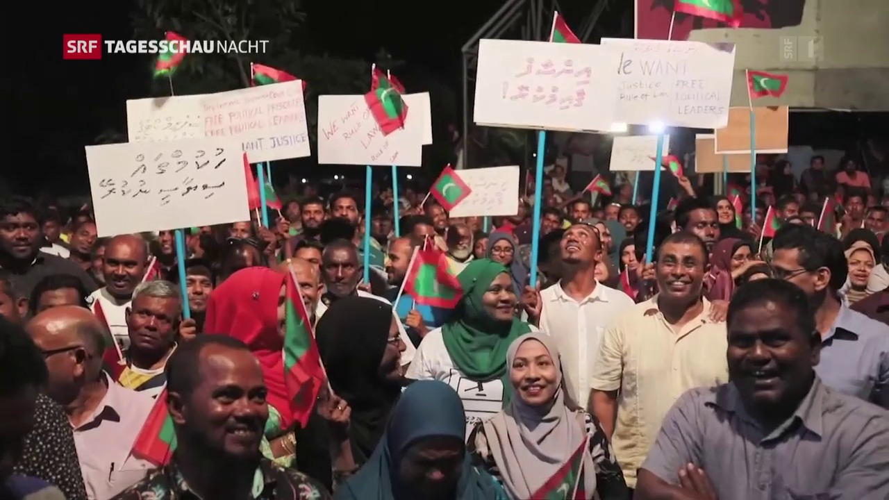 Ausnahmezustand auf den Malediven