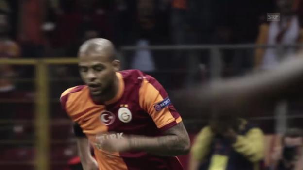 Video «Felipe Melo - Der Leader am Bosporus (10.12.2013)» abspielen