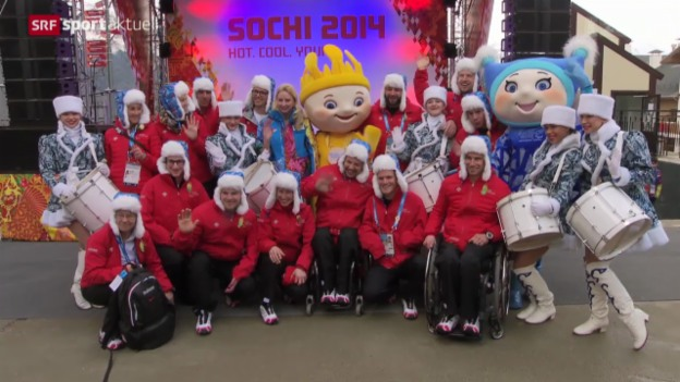 Video «Paralympics: Schweizer Ziele» abspielen