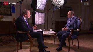 Video «FOKUS: Putin nähert sich dem Westen an» abspielen