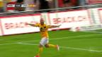 Video «Schaffhausen übernimmt Tabellenführung» abspielen