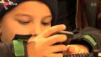 Video «Mit sechs Jahren schon ein Handy» abspielen