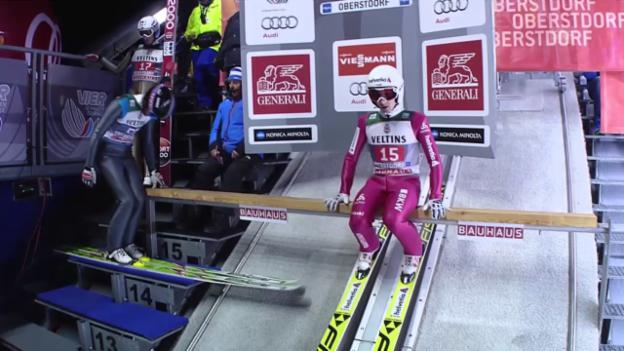 Video «Skispringen: Ammanns 2. Sprung» abspielen