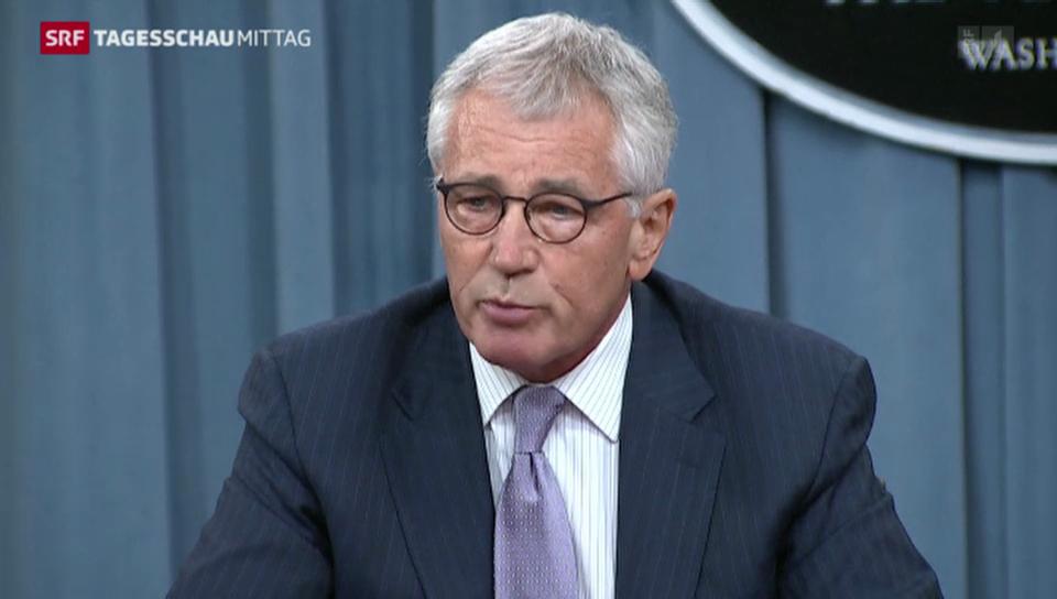 US-Verteidigungsminister warnt vor IS