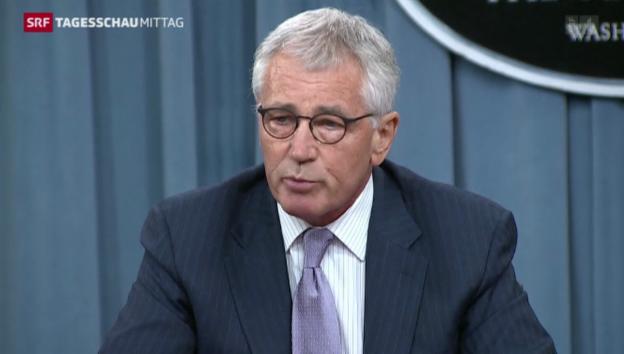 Video «US-Verteidigungsminister warnt vor IS» abspielen