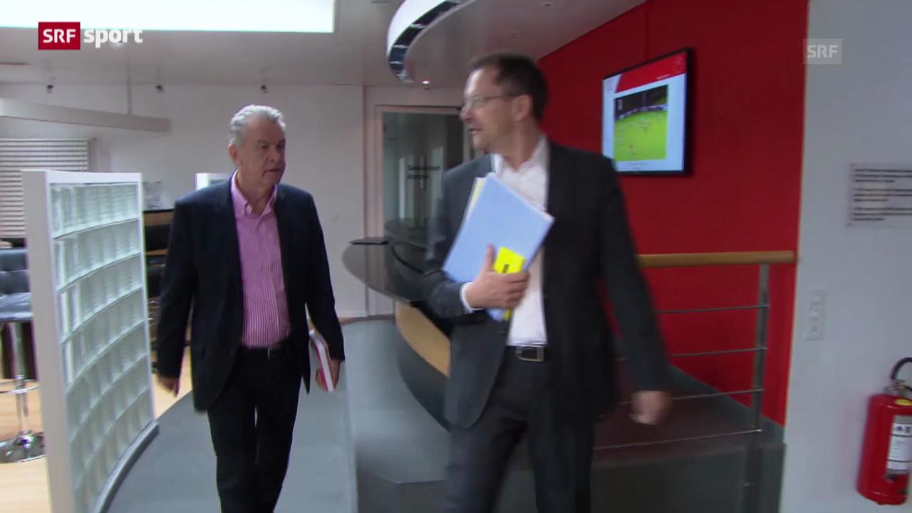 Fussball: Hitzfeld gibt Nati-Aufgebot bekannt («sportaktuell»)