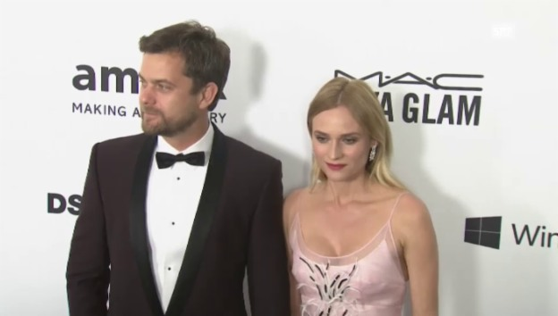 Video «Diane Kruger und Joshua Jackson (unkommentiert)» abspielen
