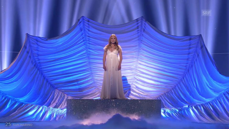 San Marino – Valentina Monetta mit «Maybe»