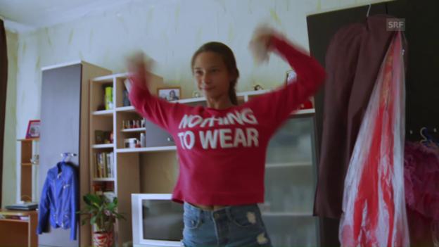 Video «Zu Sowjetzeiten sollten Frauen gescheit sein, heute schön.» abspielen