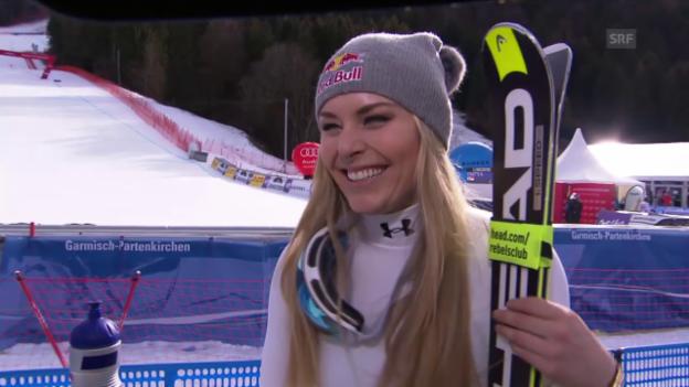 Video «Ski: Interview Lindsey Vonn» abspielen