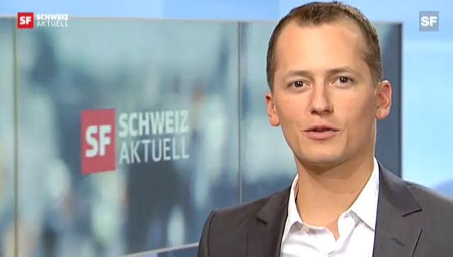 Michael Weinmann verschlägts die Sprache («Schweiz aktuell» vom 30.10.2012)