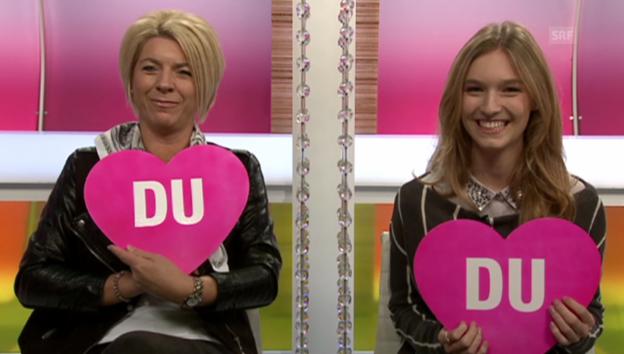 Video ««Ich oder Du» Manuela Frey und ihr Mami» abspielen