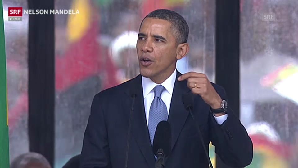 Barack Obama: «Ein Gigant der Geschichte»