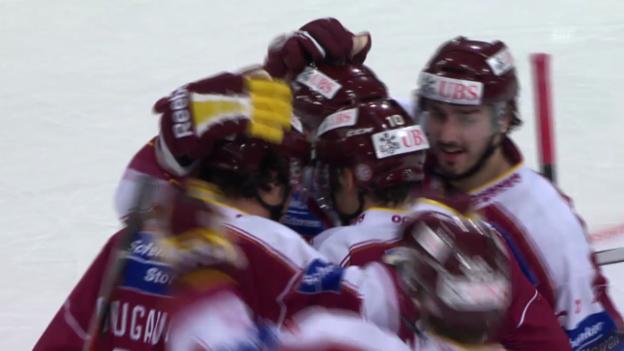 Video «Eishockey: Spengler Cup, Zusammenfassung Genf - Rochester («sportlive», 26.12.2013)» abspielen