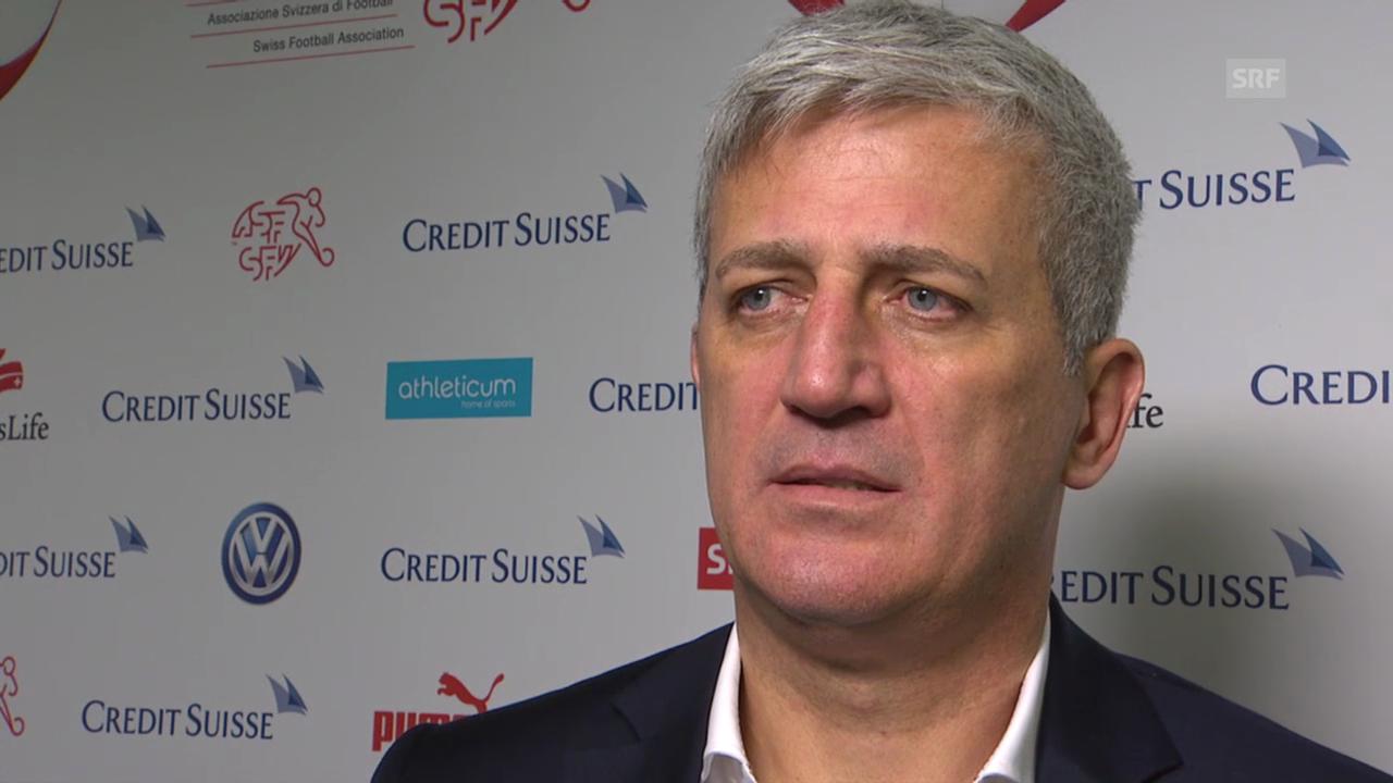 Fussball: Interview mit Vladimir Petkovic