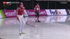 Video «Eisschnelllauf: Kaitlyn McGregor in Salt Lake City» abspielen