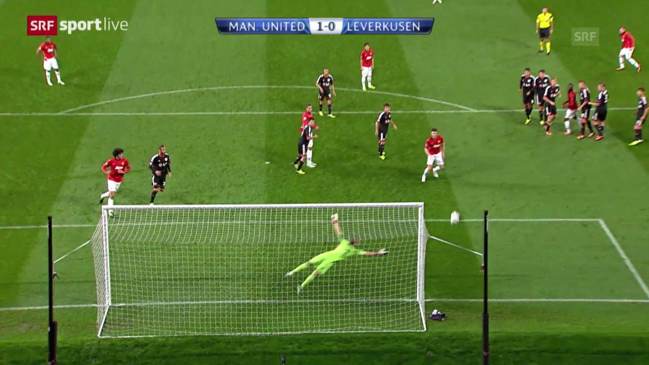 CL: Manchester United - Leverkusen