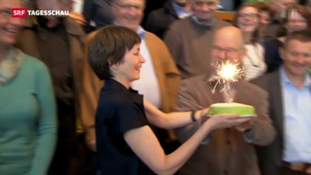 Grüne Partei feiert Geburtstag