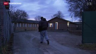 Video «Erstes Asylzentrum für beschleunigte Verfahren in Zürich eröffnet» abspielen