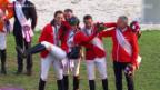 Video «Reiten: EM in Aachen, Teamevent Springreiten» abspielen