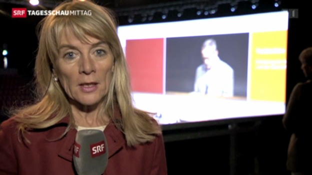 Video «SRF-Wirtschaftsredaktorin Marianne Fassbind zur Novartis-Generalversammlung» abspielen