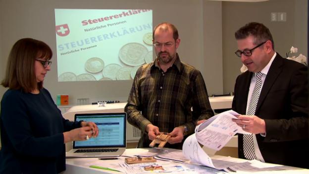 Video «Steuerberater im Test: Grosse Abzüge bei der Qualität» abspielen