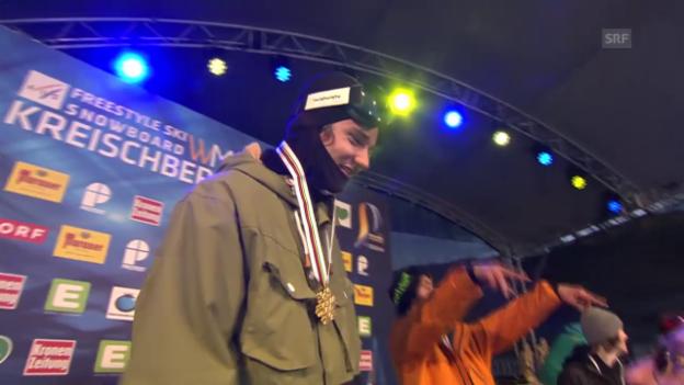 Video «Zusammenfassung Ski-Slopestyle-Wettkampf» abspielen