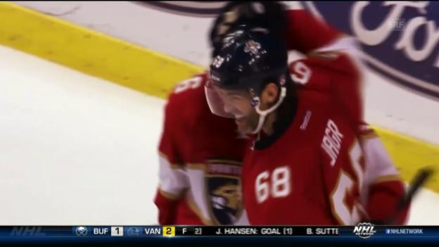 Video «Jaromir Jagrs 750. NHL-Treffer» abspielen