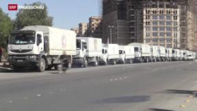 Video «Hilfsgüter für belagerte Städte» abspielen
