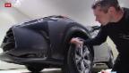 Video «Aufwendige Vorbereitung für den Autosalon Genf» abspielen