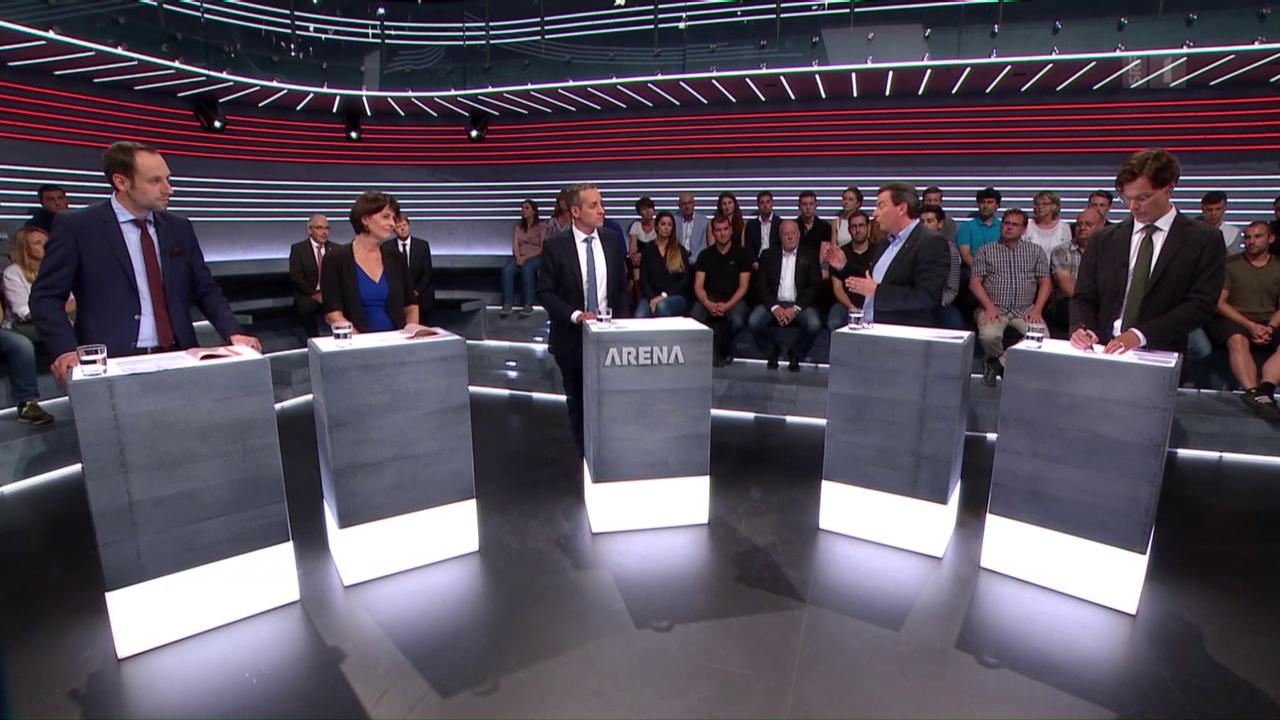 Abstimmungs-Arena: Initiative Grüne Wirtschaft