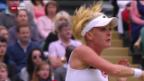 Video «Wimbledon: Viertelfinals der Frauen» abspielen