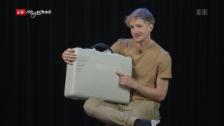 Link öffnet eine Lightbox. Video «Einfach Physik!» - Kreisel im Koffer (5/5) abspielen