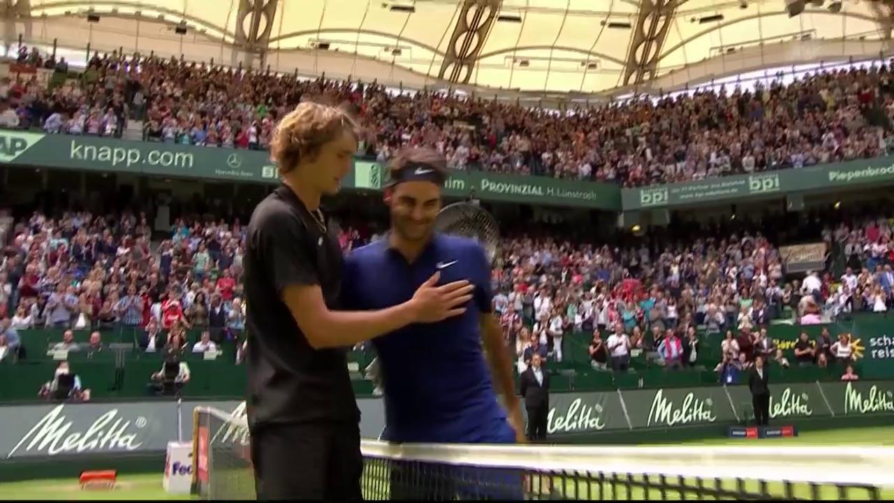 Federer muss sich Zverev geschlagen geben