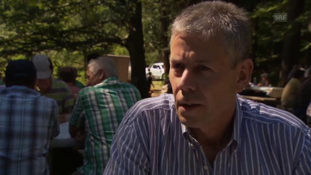 Video «Christian Fuchs über die Korporation» abspielen