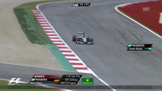 Video «Formel 1: Schlussphase GP Österreich» abspielen