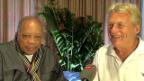 Video «Quincy Jones trifft auf Pepe Lienhard» abspielen