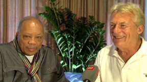 Video «Superstar in der Schweiz: Quincy Jones trifft auf Pepe Lienhard» abspielen