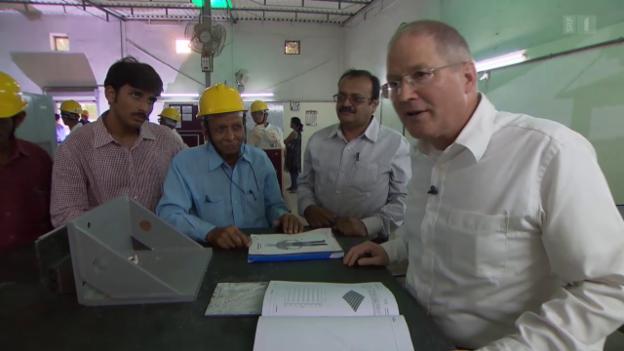 Video «Skillsonics exportiert Schweizer Berufsbildung nach Indien» abspielen