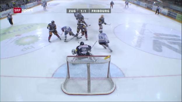Video «Fribourg-Zug («sportaktuell»)» abspielen