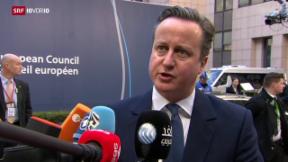 Video «Briten warten weiterhin auf Deal» abspielen