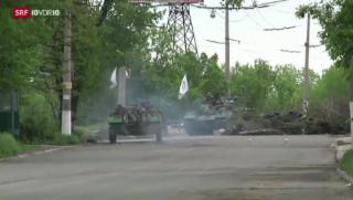 Video «Ukraine: Moderne Waffen» abspielen