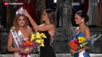 Video «Peinliche Doppelkrönung der Miss Universe» abspielen