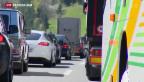 Video «Stau am Gotthard» abspielen