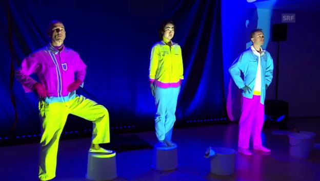 Video «Japanische Moderatorin holt «Coloro» in ihre Heimat» abspielen
