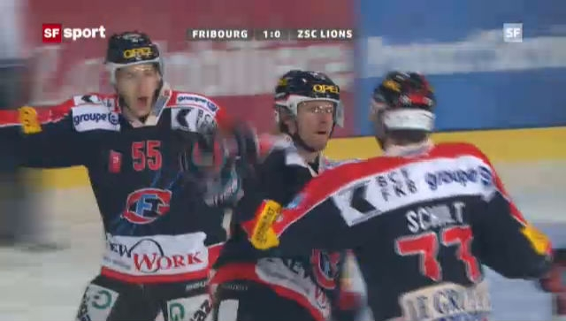 Eishockey: Fribourg-ZSC Lions