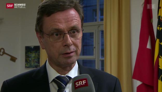 Video «Hans-Jürg Käser zur Anstellung von Caccivio» abspielen
